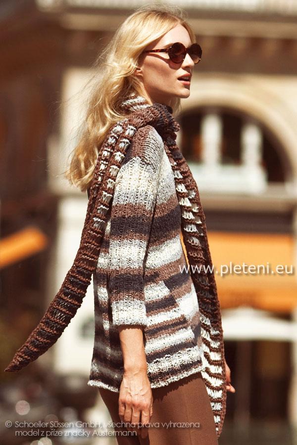 Kolekce ručně pletených oděvů Austermann jaro léto 2013 838e0172a7