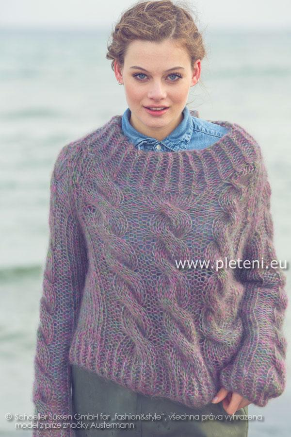 85b0767ed1be Kolekce ručně pletených oděvů Austermann podzim zima 2013-14