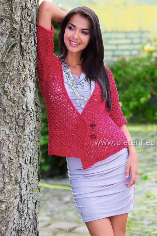 e49cbb673ab3 Ručně pletené oděvy Schoeller+Stahl jaro léto 2011