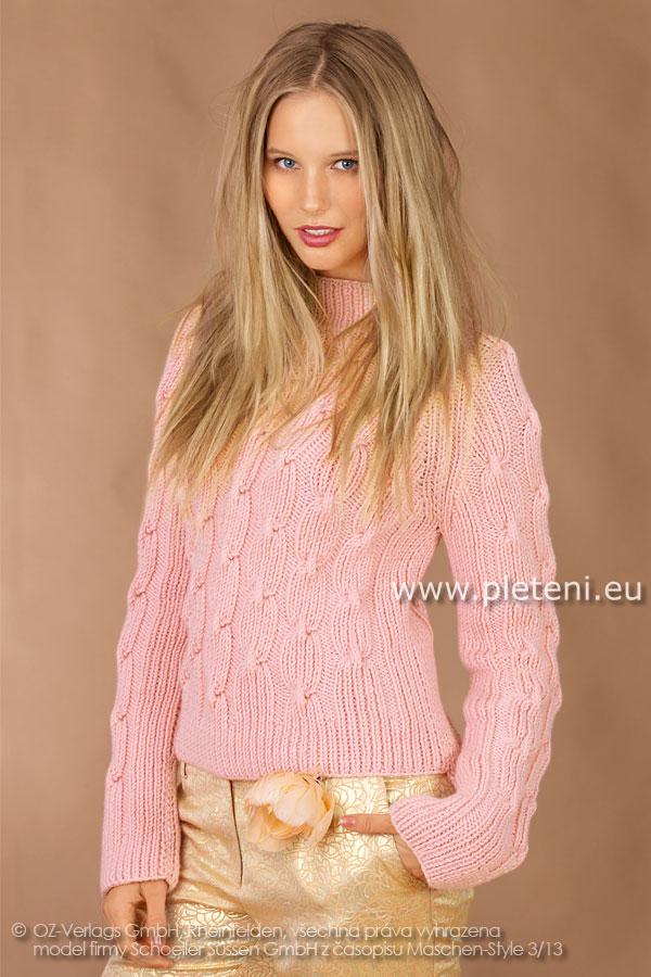 Kolekce ručně pletených oděvů Schoeller+Stahl zima 2013-14 0529aa2a14