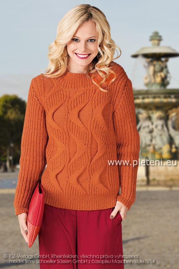 eb43f4909fb Kolekce ručně pletených oděvů Schoeller+Stahl zima 2014-15