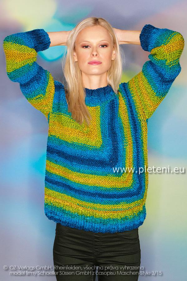 Kolekce ručně pletených oděvů firmy Schoeller podzim-zima 2015-16 2149718b89