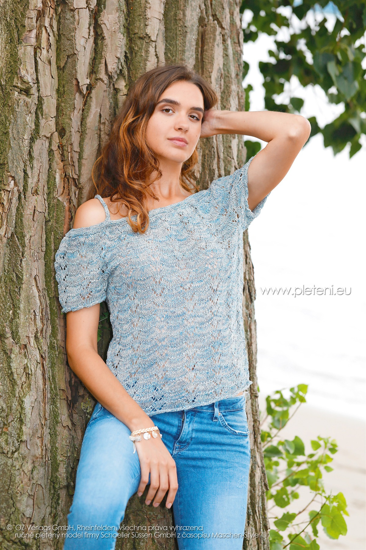 2018-L-03 dámský top z příze Magic Silk Color firmy Schoeller
