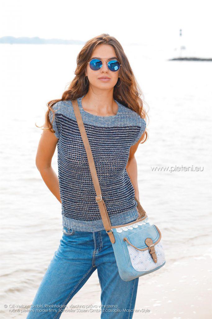 2018-L-05 dámský svetr z příze Magic Silk Color firmy Schoeller