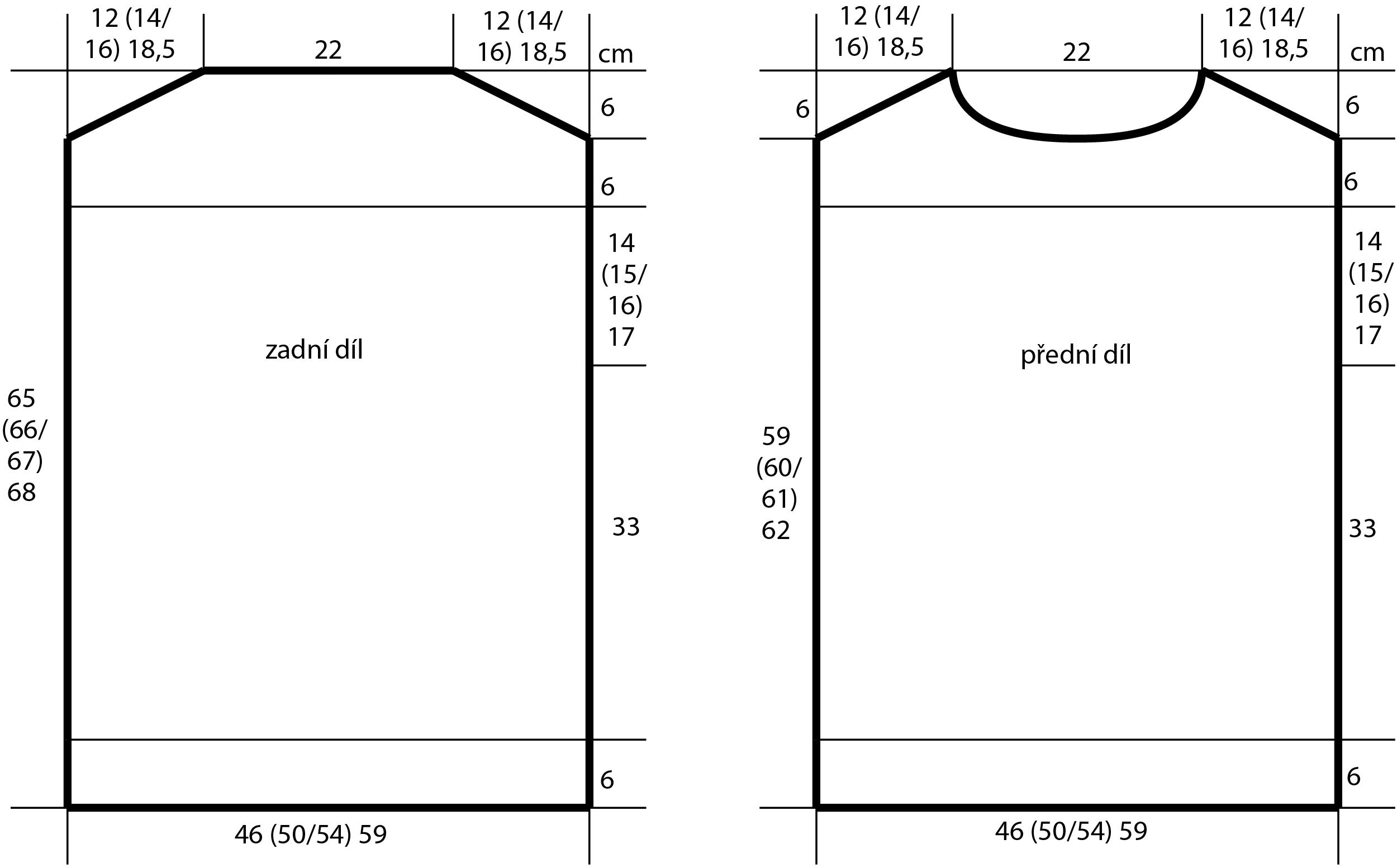 2018-L-05 dámský svetr z příze Magic Silk Color firmy Schoeller - střih