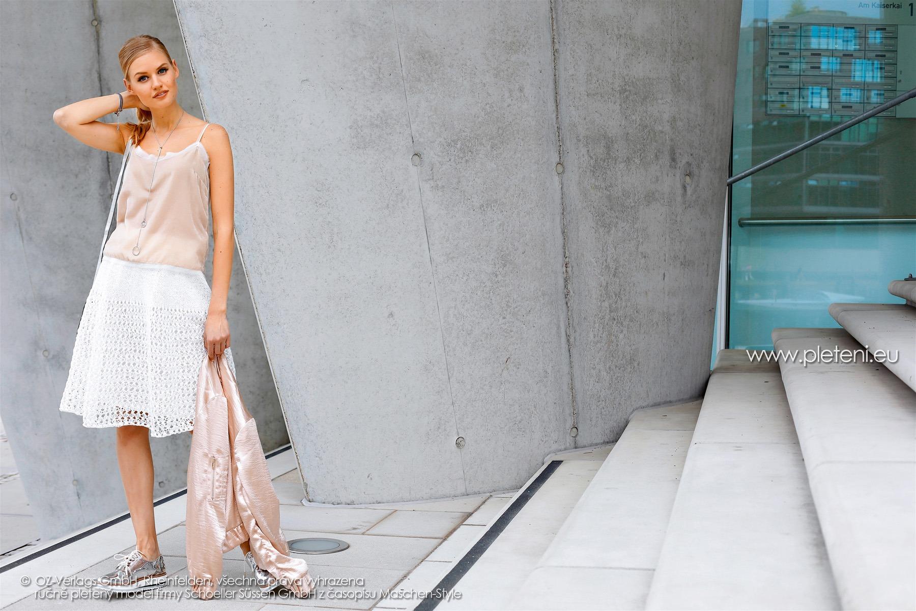 2018-L-08 dámská sukně z příze Skye firmy Schoeller