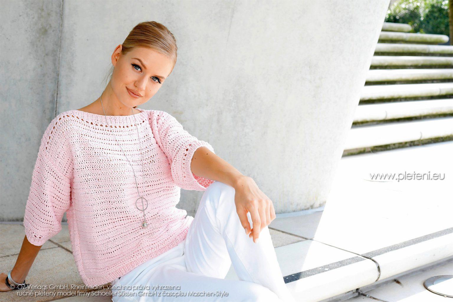 2018-L-11 dámský svetr z příze Pure firmy Schoeller