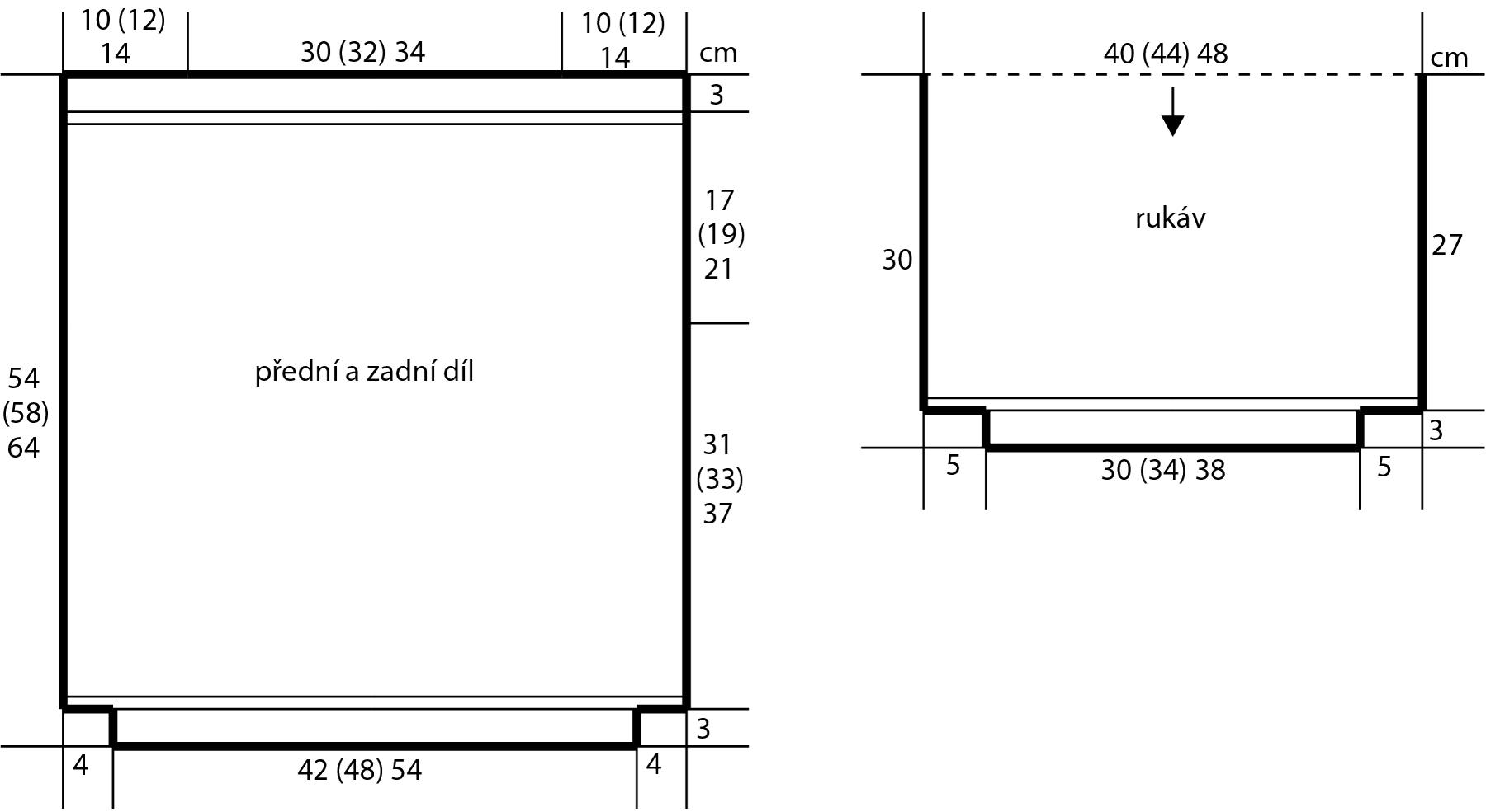 2018-L-11 dámský svetr z příze Pure firmy Schoeller - střih