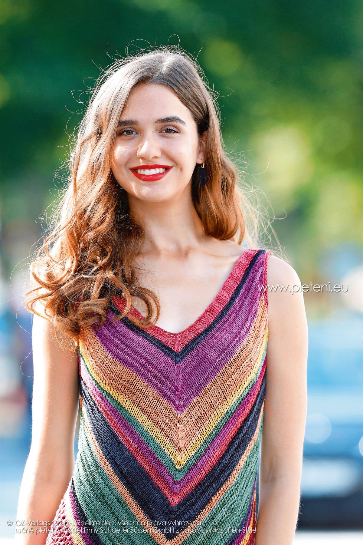2018-L-17 dámské šaty z příze Shalima firmy Schoeller