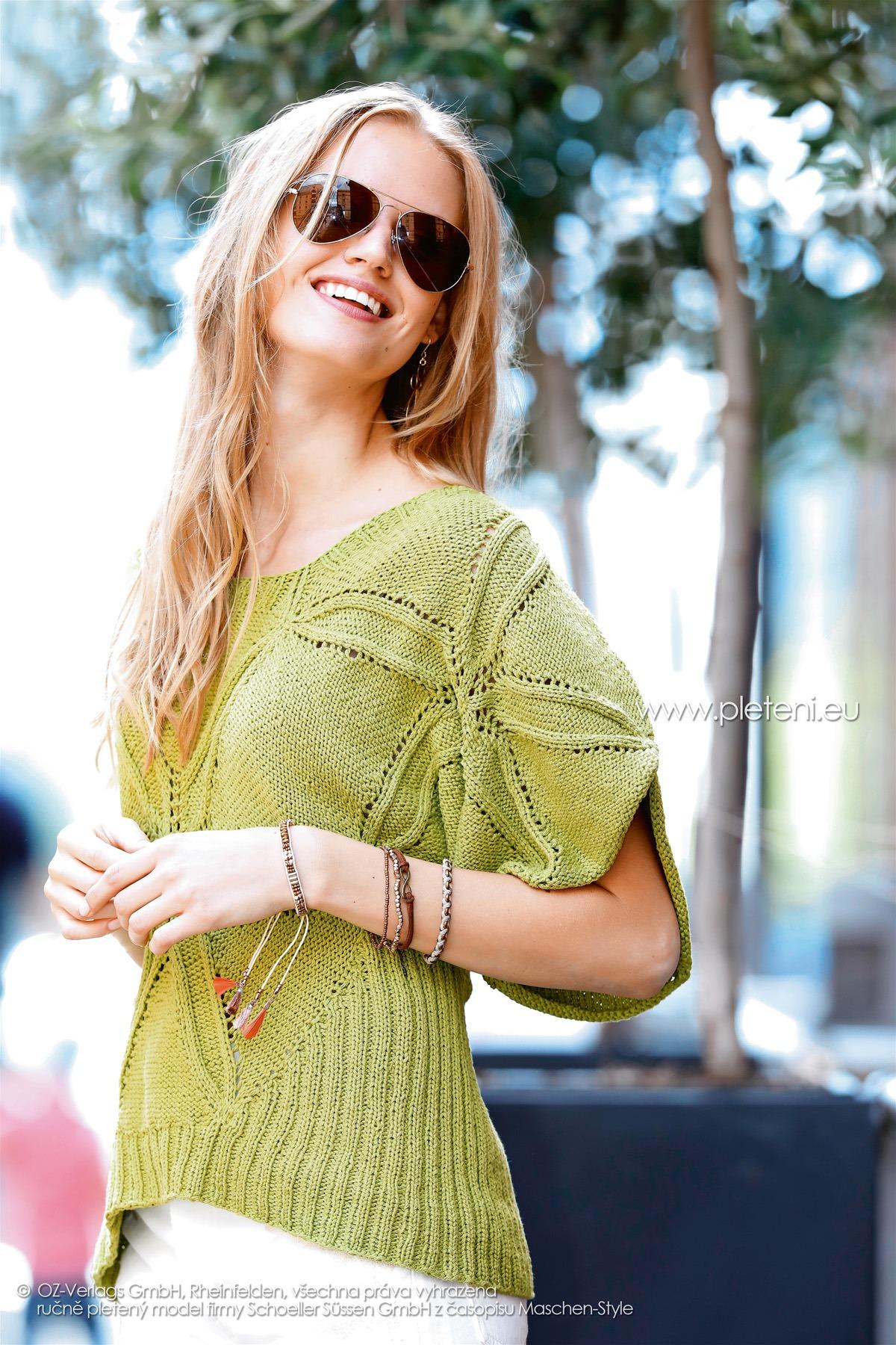 2018-L-19 dámský svetr z příze Pure firmy Schoeller