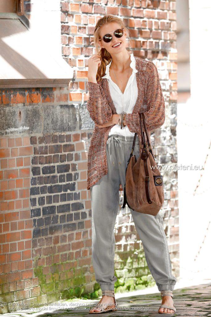 2018-L-22 dámský kabátek z příze Magic Silk Color firmy Schoeller