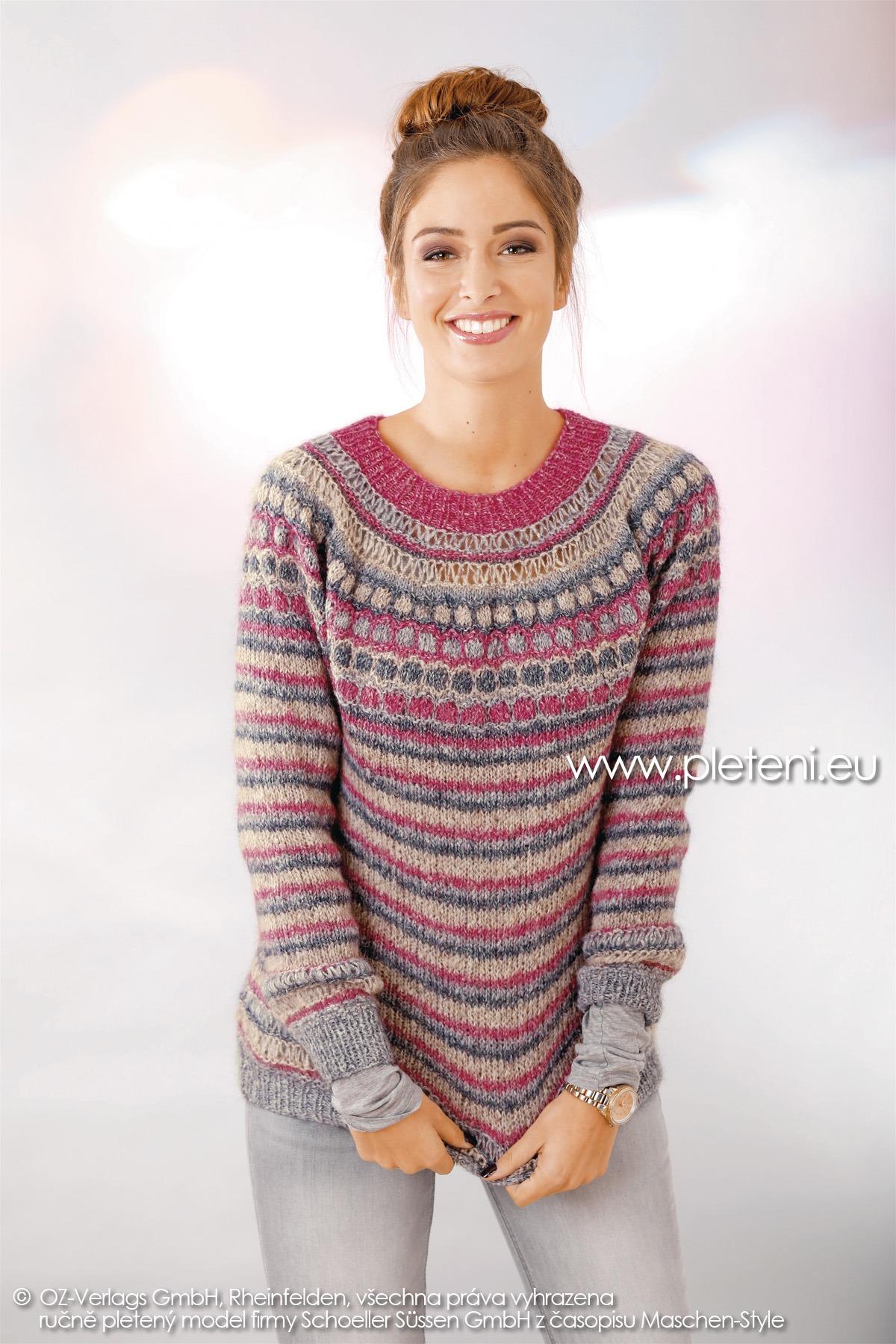 2018-Z-05 dámský svetr z příze Mohair Dream firmy Schoeller