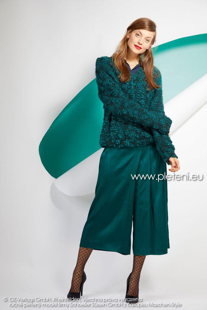 2019-Z-06 pletený dámský svetr z příze Jamalia značky Austermann
