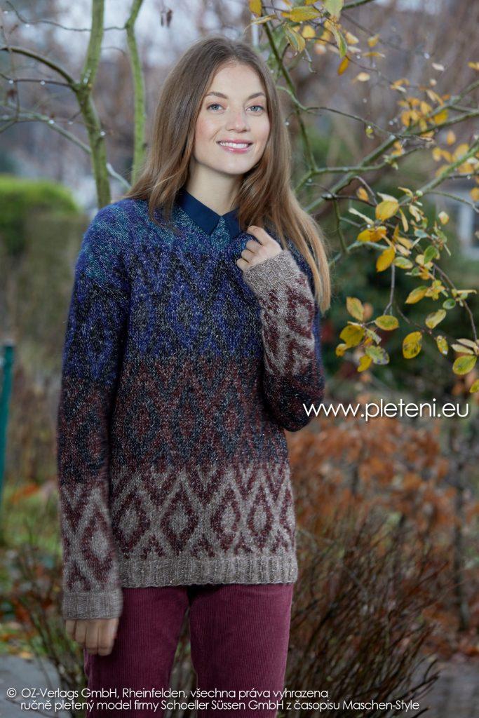 2019-Z-20 pletený dámský svetr z příze Alpaca Star značky Austermann