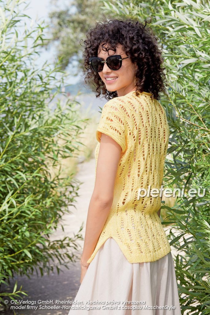 2020-L-12 pletený dámský svetr z příze Tencel značky Austermann