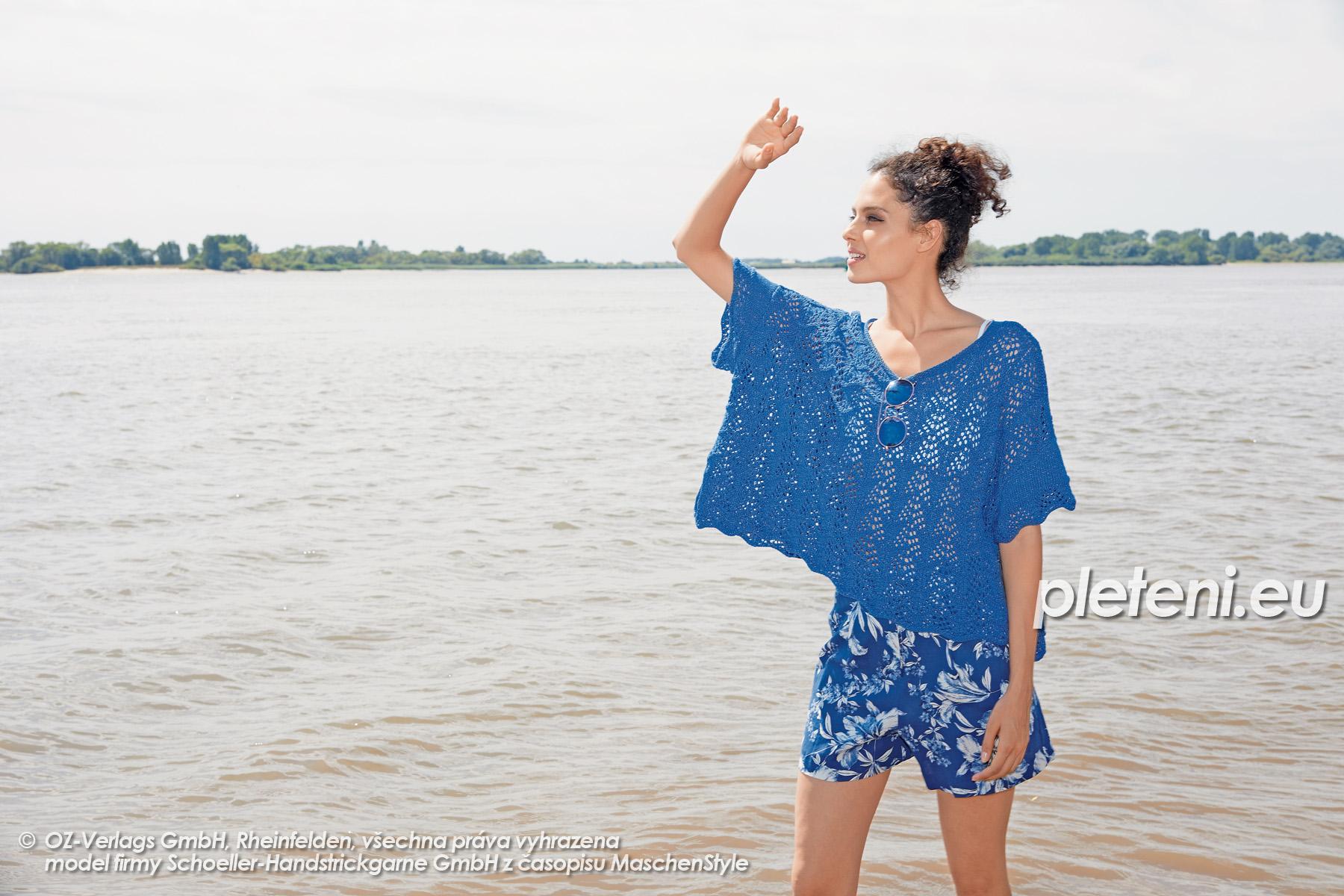 2020-L-28 pletený top z příze Star Cotton značky Austermann