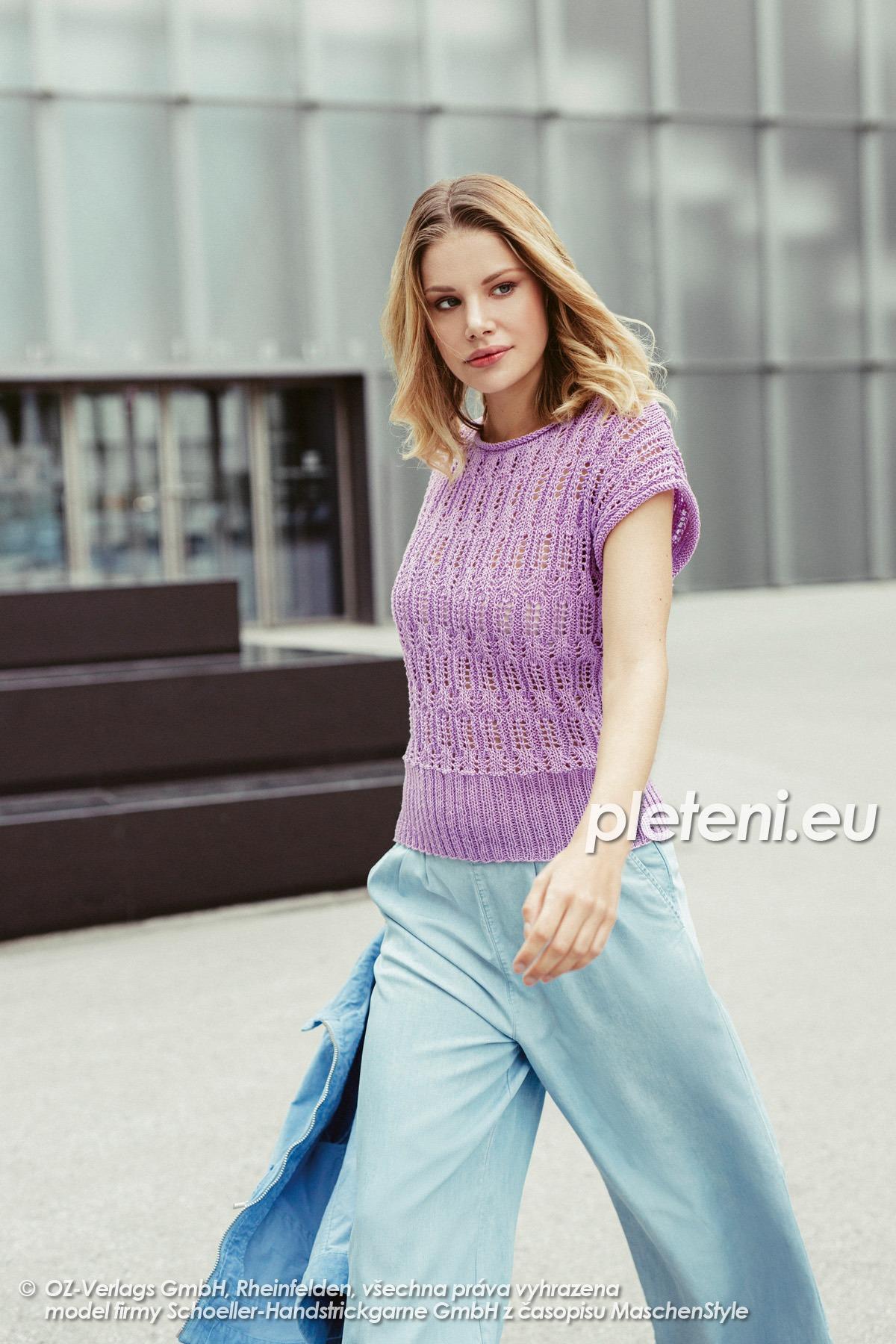 2020-L-54 dámský svetr z příze Limone značky Schoeller+Stahl